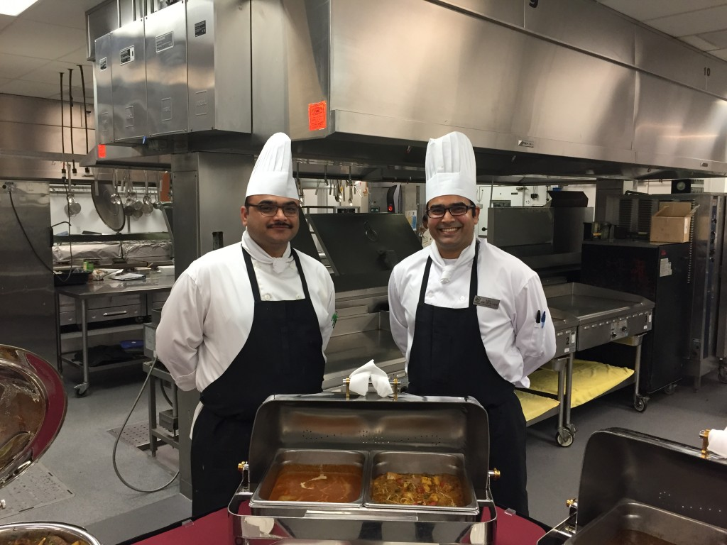 Demi Chef de Partie Rohit (Left) and Chef de Partie Rahul (Right) 2
