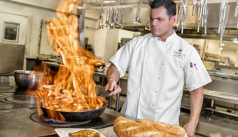 Executive Chef Serge Belair