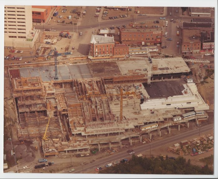 Edmonton Convention Centre construction 1983